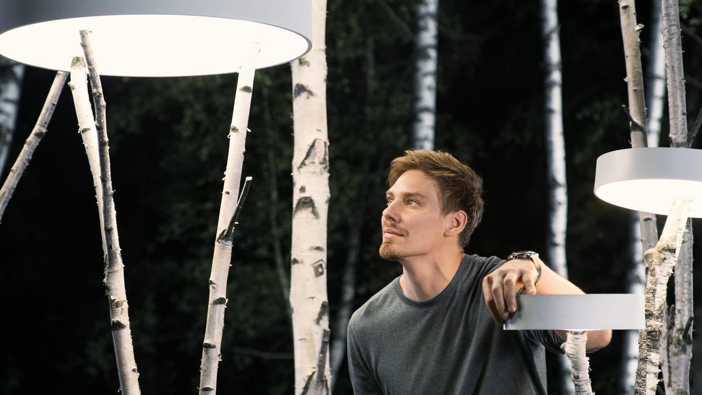 Световая инсталляция BEREZKI