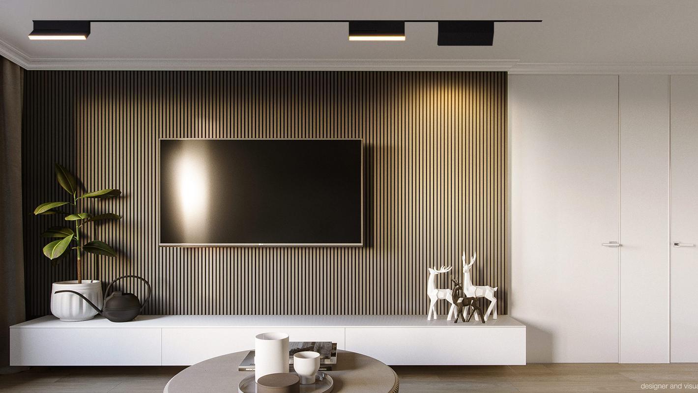 Трековая система Infinity в проекте освещения частных апартаментов