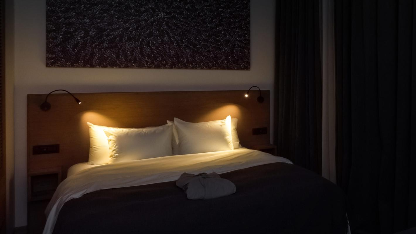 Освещение от ЦЕНТРСВЕТ в отеле Moss Boutique Hotel