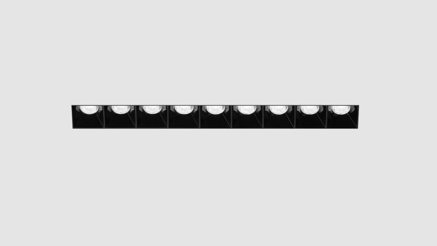Встраиваемый потолочный севтильник 3M LINE DIM 220V, фото 3