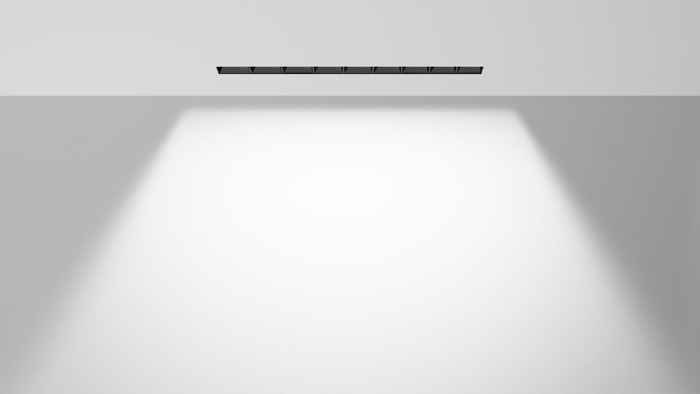 Встраиваемый потолочный севтильник 3M LINE DIM 220V, фото 4