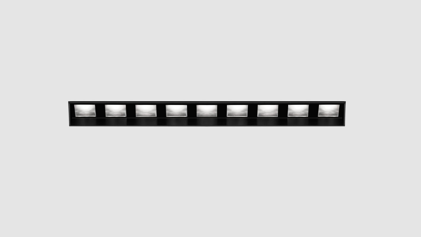 Встраиваемый потолочный севтильник 3M LINE WALL DIM 220V, фото 3