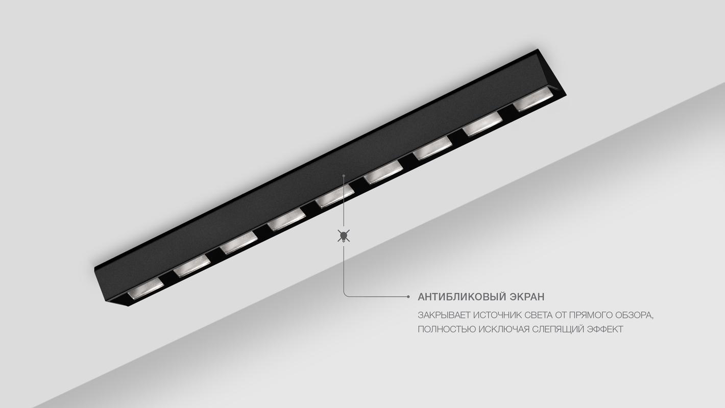 Встраиваемый потолочный севтильник 3M LINE WALL DIM 220V, фото 10