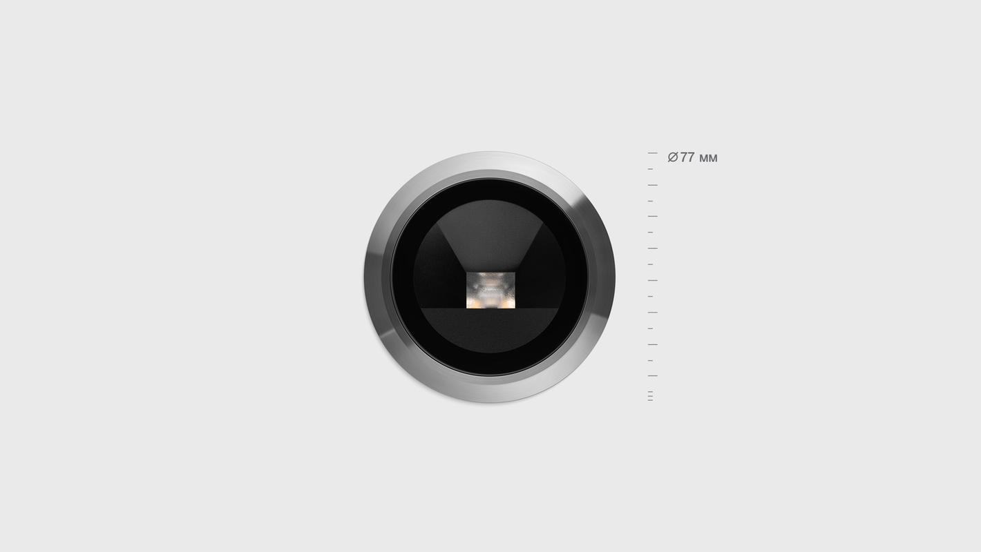 Встраиваемый в пол светильник LIGHT UP9 WALL, фото 4