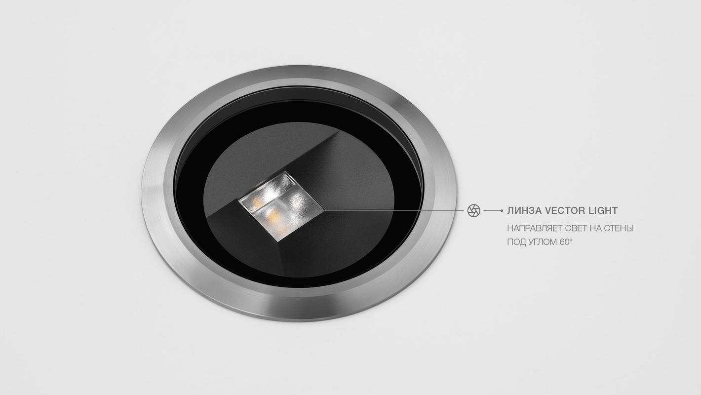 Встраиваемый в пол светильник LIGHT UP9 WALL, фото 6