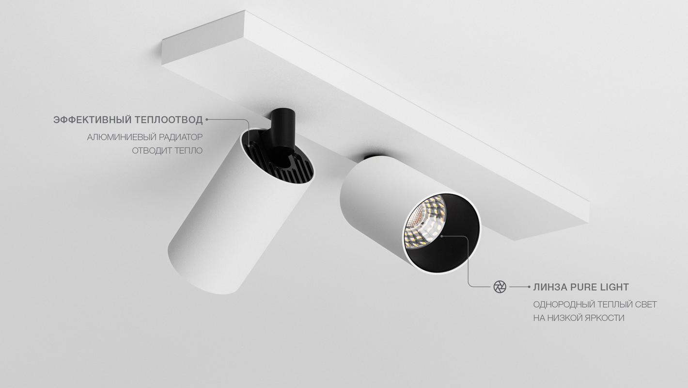 Накладной потолочный светильник LOCUS CT DUO, фото 5