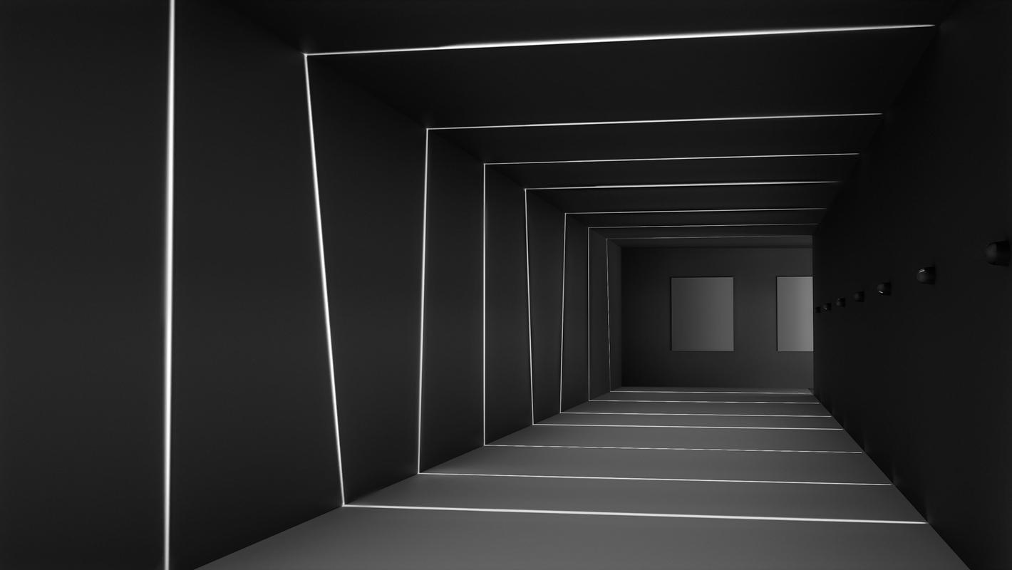 Фасадный светильник LOOCH, рендер 1