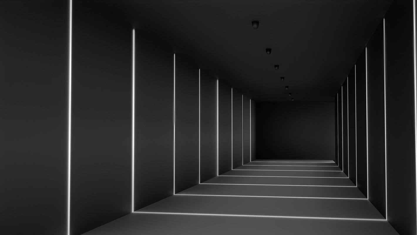 Фасадный светильник LOOCH, рендер 2