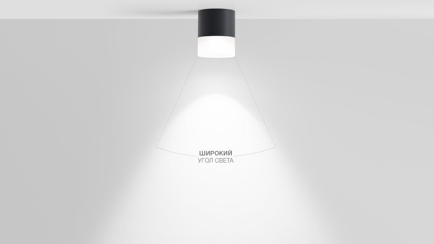 Накладной потолочный светильник OREO C IP65 SOFT, фото 7